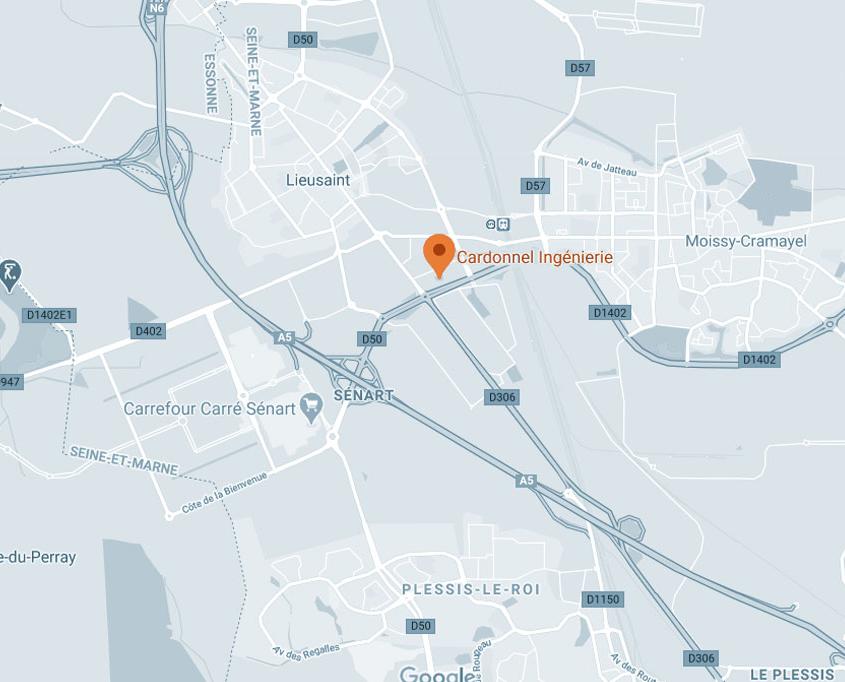 CARDONNEL Ingénierie localisation adresse map