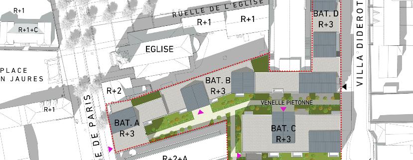 logements en social et accession - Pierrefitte sur Seine