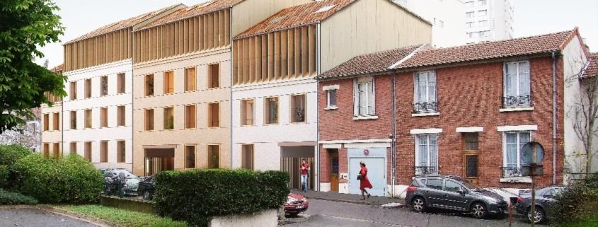 démolition et construction logements résidentiels et commerces - Bagnolet