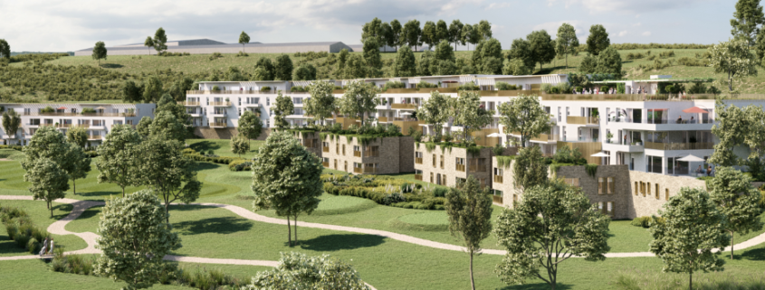 Programme immobilier résidence - Thiverval