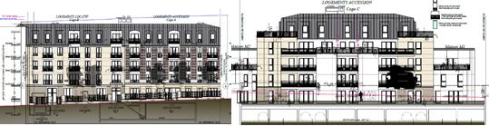 Immeuble collectif résidentiel - Viroflay