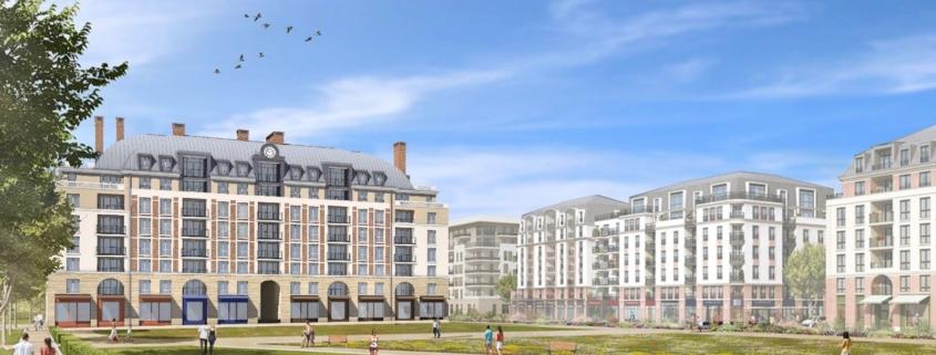 résidence logements et commerces - Pontoise (95)